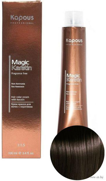 """Крем-краска для волос """"Non Ammonia"""" тон: 5.3, светлый коричневый золотистый — фото, картинка"""