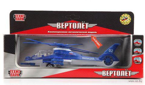 """Модель вертолета """"Полиция"""""""