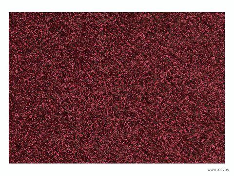 """Фольга для декорирования ткани """"Красный"""" (90х160 мм)"""