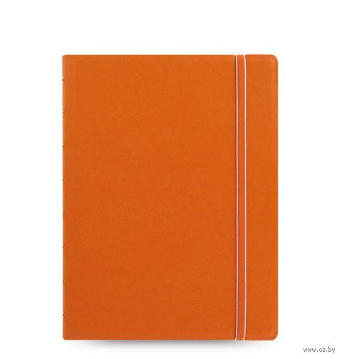 "Записная книжка Filofax ""Notebook Classic"" (A5; оранжевая)"