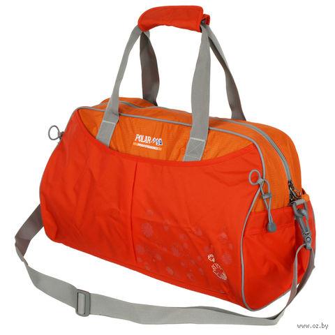 Сумка спортивная П2053 (36 л; оранжевая) — фото, картинка