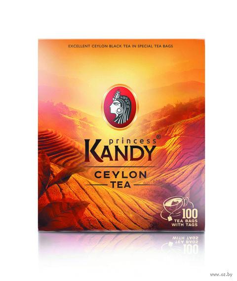 """Чай черный """"Принцесса Канди. Цейлонский"""" (100 пакетиков) — фото, картинка"""