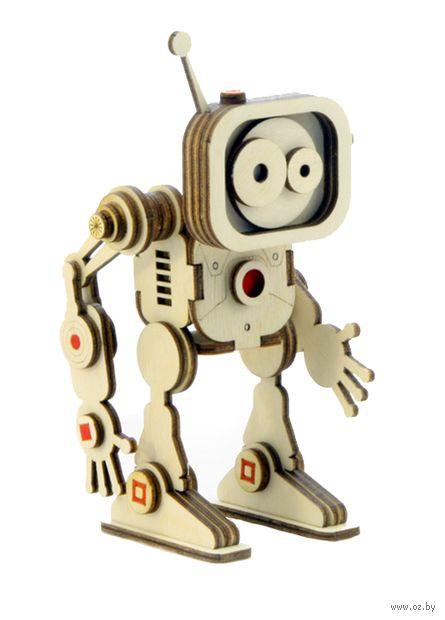 """Сборная деревянная модель """"Робот Флеш"""" — фото, картинка"""