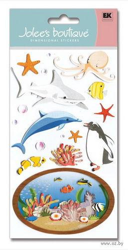 """Стикеры для скрапбукинга """"Джоли бутик. Аквариум"""" (арт. EKS-SPJBLG218) — фото, картинка"""