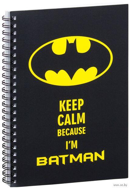 """Блокнот в клетку """"Бэтмен"""" A5 (047)"""