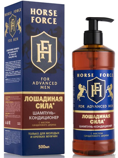 """Шампунь-кондиционер для волос 2в1 """"С маслом сандалового дерева"""" (500 мл) — фото, картинка"""