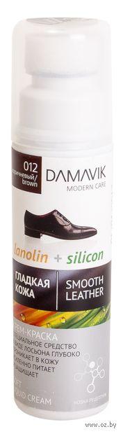 Крем-краска для обуви (75 мл; темно-коричневый) — фото, картинка