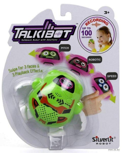 """Интерактивная игрушка """"Talkibot"""" (зелёный; со световыми эффектами) — фото, картинка"""