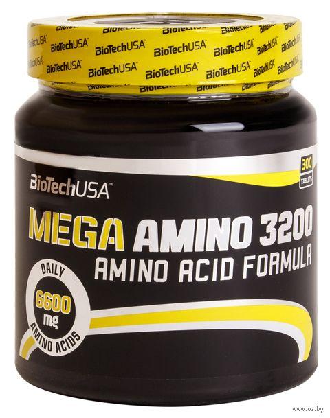 """Аминокислоты """"Mega Amino 3200"""" (300 таблеток) — фото, картинка"""