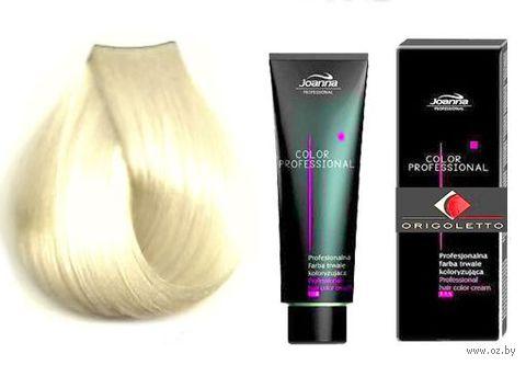 Краска для волос Joanna Color Professional (тон: 10.10, ультрасветлый натуральный блонд)