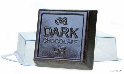 """Форма для изготовления мыла """"Темный шоколад"""""""