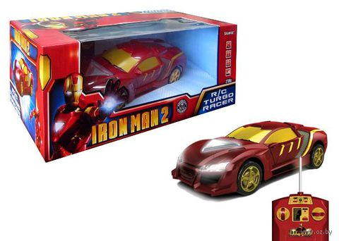 """Автомобиль на радиоуправлении """"Iron man"""" (со световыми эффектами)"""