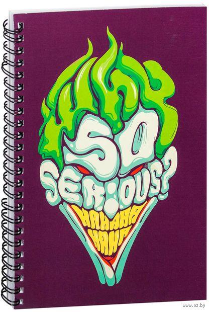 """Блокнот в клетку """"Джокер"""" (A5; арт. 048)"""