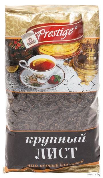 """Чай черный листовой """"Prestige. Крупный лист"""" (100 г; в пакете) — фото, картинка"""