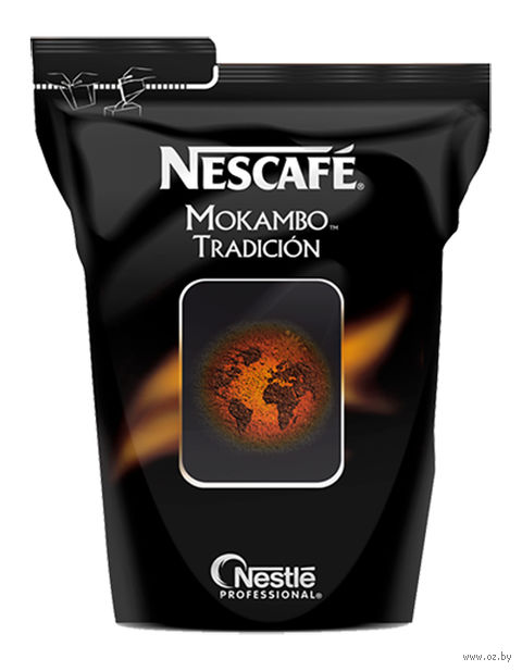 "Кофе растворимый ""Nescafe. Mokambo Tradicion"" (500 г) — фото, картинка"
