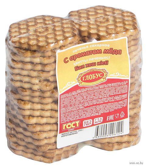 """Печенье сахарное """"С ароматом меда"""" (250 г) — фото, картинка"""