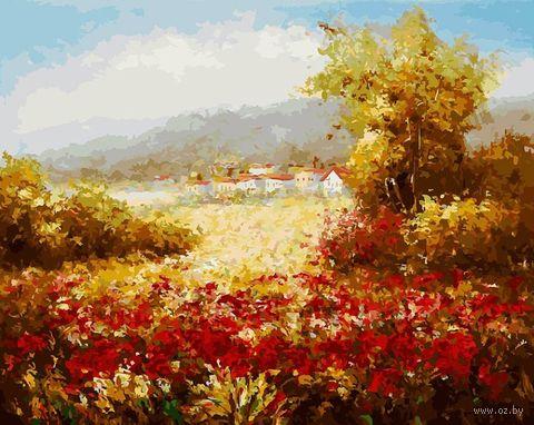 "Картина по номерам ""Летнее поле"" (400х500 мм) — фото, картинка"