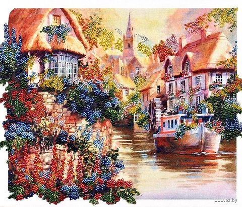 "Вышивка бисером ""Голландия"" (310х250 мм) — фото, картинка"