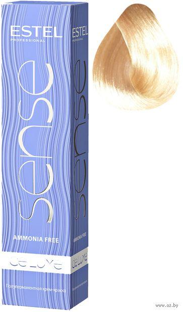 """Крем-краска для волос """"Sense De Luxe"""" тон: 10/65, светлый блондин фиолетово-красный — фото, картинка"""