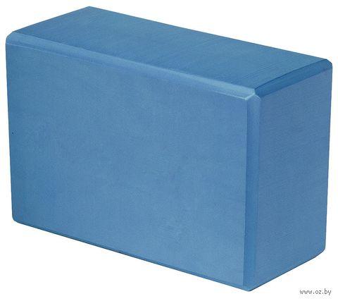Блок для йоги AYB02BE (голубой) — фото, картинка