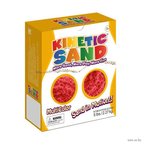 """Кинетический песок """"Kinetic Sand. Красный"""" (2,27 кг)"""