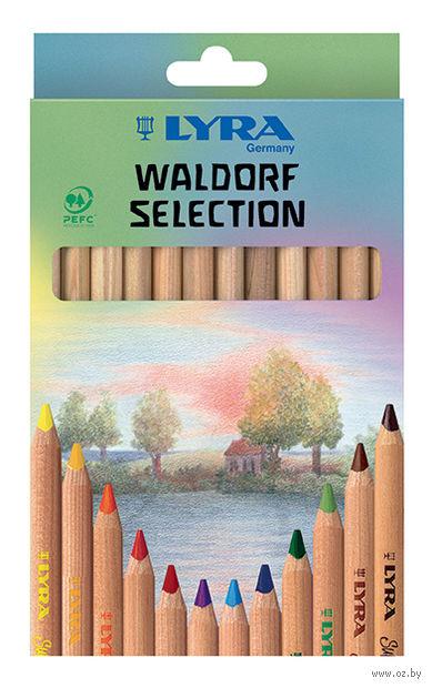 "Цветные карандаши ""SUPERFERBY NATURE WALDORF"" (12 цветов)"