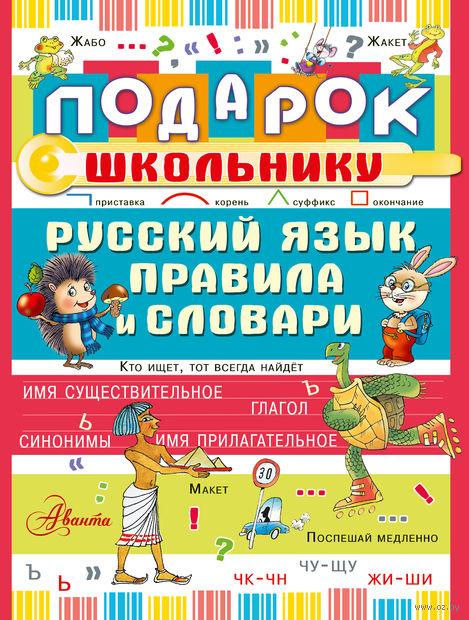 Подарок школьнику. Русский язык. Правила и словари (комплект из 3-х книг). Мария Фетисова