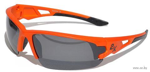 """Очки солнцезащитные """"S-15001-E"""" (оранжевые) — фото, картинка"""