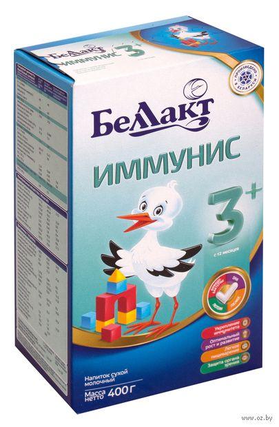 "Сухой молочный напиток Беллакт ""Иммунис 3+"" (400 г) — фото, картинка"