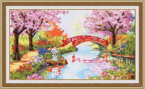 "Вышивка бисером ""Весенний сад"""