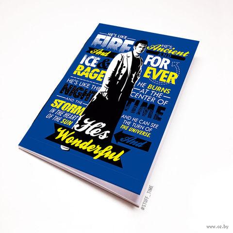 """Блокнот """"Доктор Кто"""" (А5; арт. 136) — фото, картинка"""