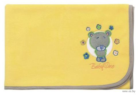 """Одеяло детское флисовое """"Медведь"""""""
