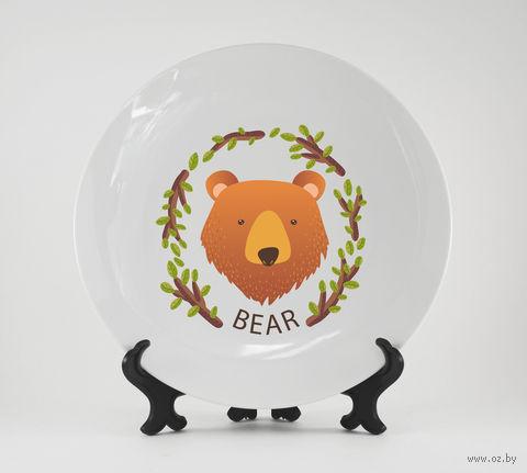 """Тарелка """"Медведь"""" (арт. 521)"""