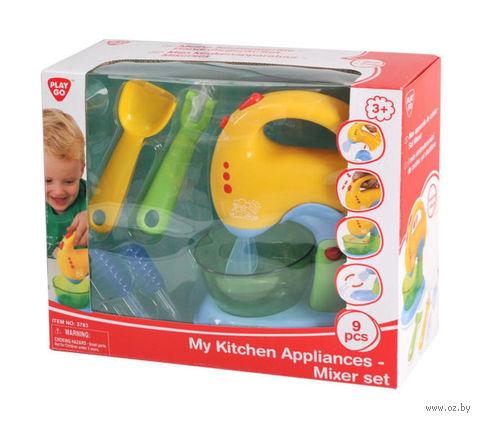 """Игровой набор """"Детский миксер"""" (со световыми и звуковыми эффектами) — фото, картинка"""