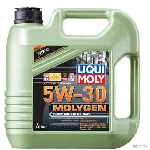 "Масло моторное ""Molygen New Generation"" 5W-30 (4 л) — фото, картинка"