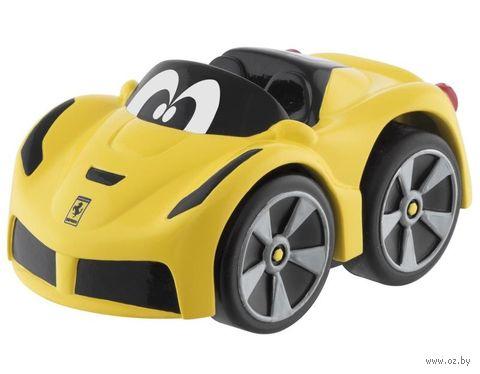 """Машинка инерционная """"Ferrari"""" (желтая) — фото, картинка"""