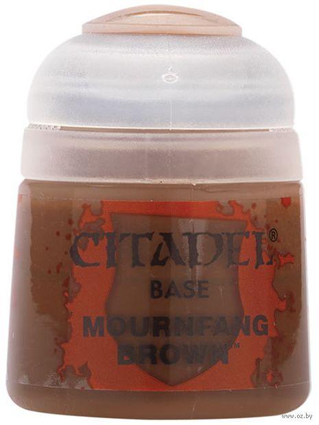 "Краска акриловая ""Citadel Base"" (mournfang brown; 12 мл) — фото, картинка"
