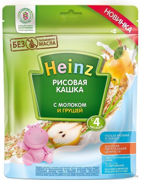 """Детская каша Heinz Baby """"Рисовая с молоком и грушей"""" (250 г) — фото, картинка"""