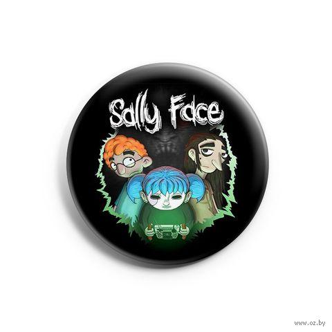 "Значок маленький ""Sally Face"" (арт. 435) — фото, картинка"