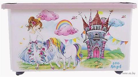 """Ящик для хранения игрушек """"Сказочная Принцесса"""" (арт. LA1028) — фото, картинка"""