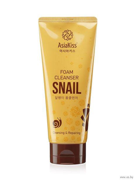 """Пенка для умывания """"Snail foam cleanser"""" (180 мл) — фото, картинка"""