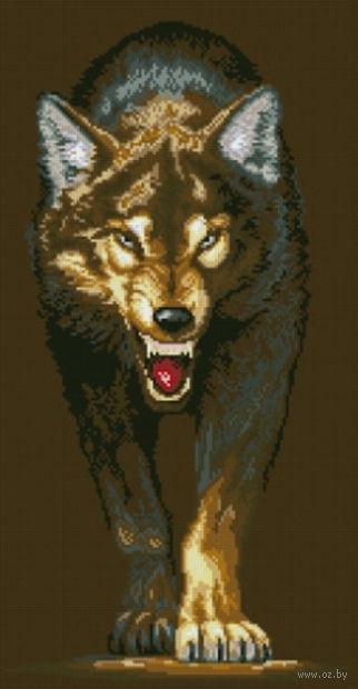 """Алмазная вышивка-мозаика """"Волчица"""""""