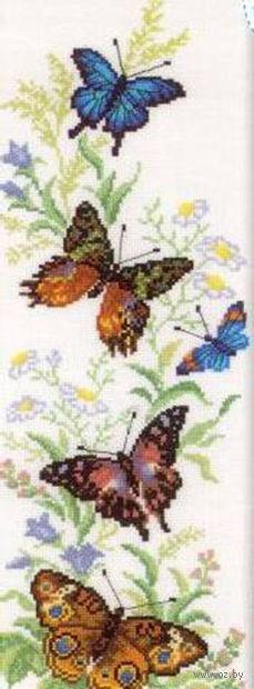 """Вышивка крестом """"Порхающие бабочки"""""""