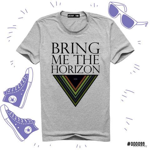 """Футболка серая унисекс """"Bring Me the Horizon"""" S (099)"""