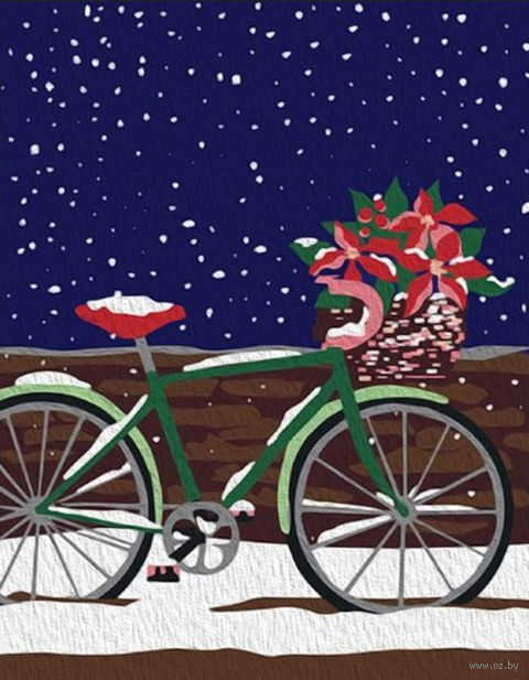 """Картина по номерам """"Велосипед"""" (165х130 мм) — фото, картинка"""