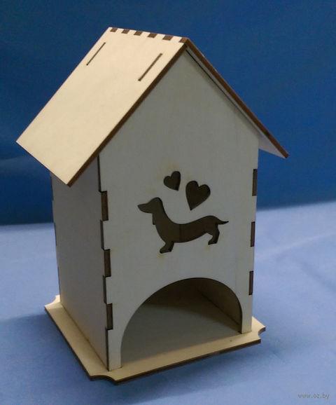 """Чайный домик """"Такса"""" (арт. МВ00360) — фото, картинка"""