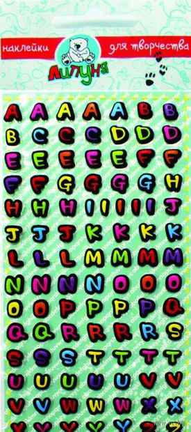"Наклейки ""Алфавит английский"" — фото, картинка"