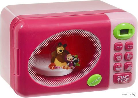 """Игровой набор """"Маша и Медведь. Микроволновая печь"""""""