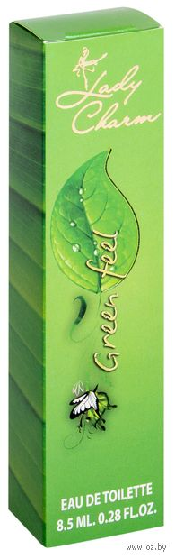 "Туалетная вода для женщин ""Green Feel"" (8,5 мл) — фото, картинка"