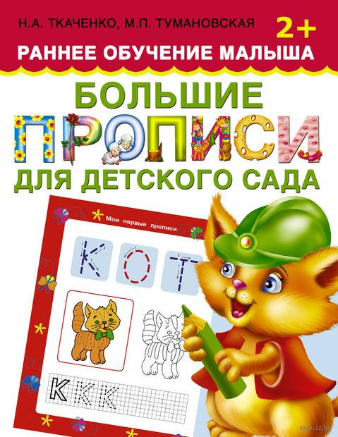 Большие прописи для детского сада. Наталья Ткаченко, Мария Тумановская